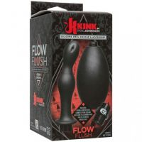 -kink---flow-flush---black---silicone-anal-douche-and-accessory-