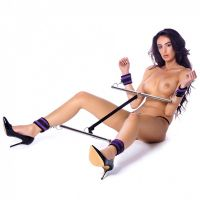 rimba-double-spreader-bar-with-soft-cuffs